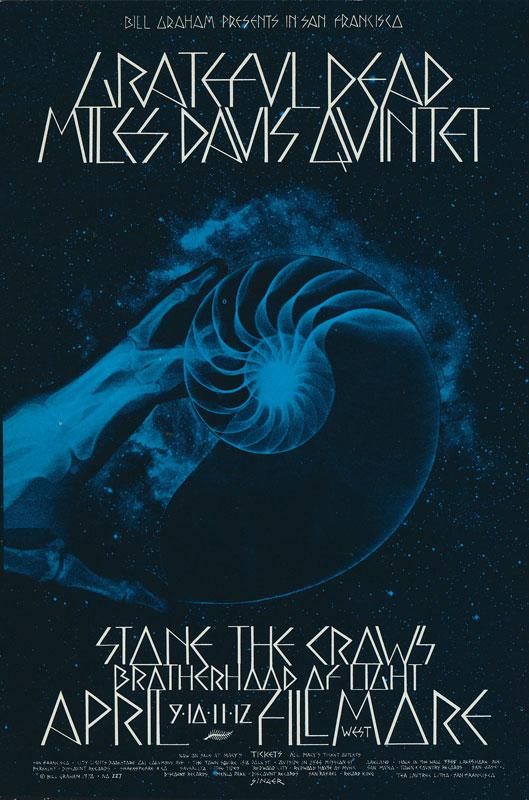 BG # 227-2 Grateful Dead Fillmore Poster BG227