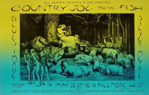 BG # 236-1 Country Joe and the Fish Fillmore Poster BG236