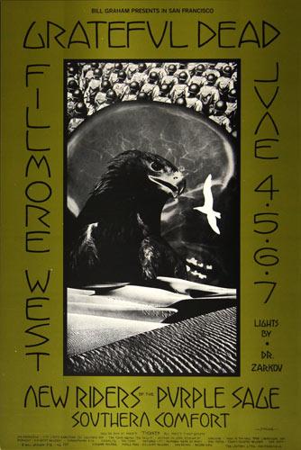 BG # 237-1 Grateful Dead Fillmore Poster BG237