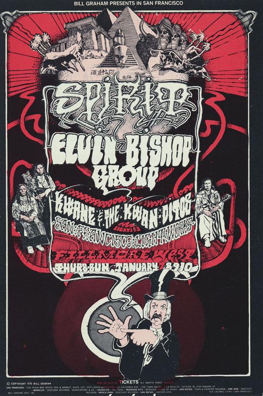 BG # 265-1 Spirit Fillmore Poster BG265