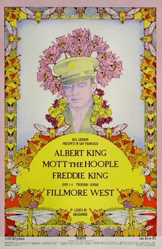BG # 283-1 Albert King Fillmore Poster BG283