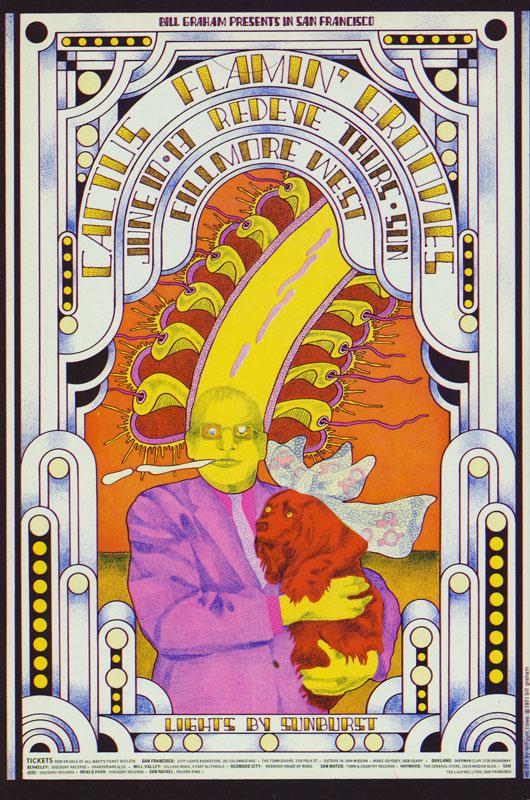 BG # 284-1 Cactus Fillmore Poster BG284