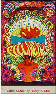 BG # 139 Canned Heat Fillmore Saturday ticket BG139