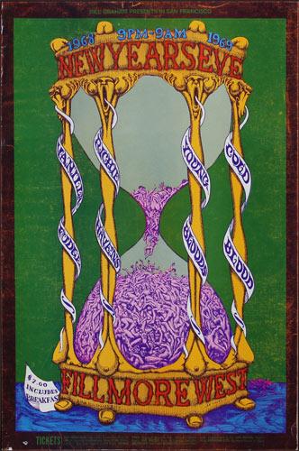 BG # 153-1 Vanilla Fudge Fillmore Poster BG153
