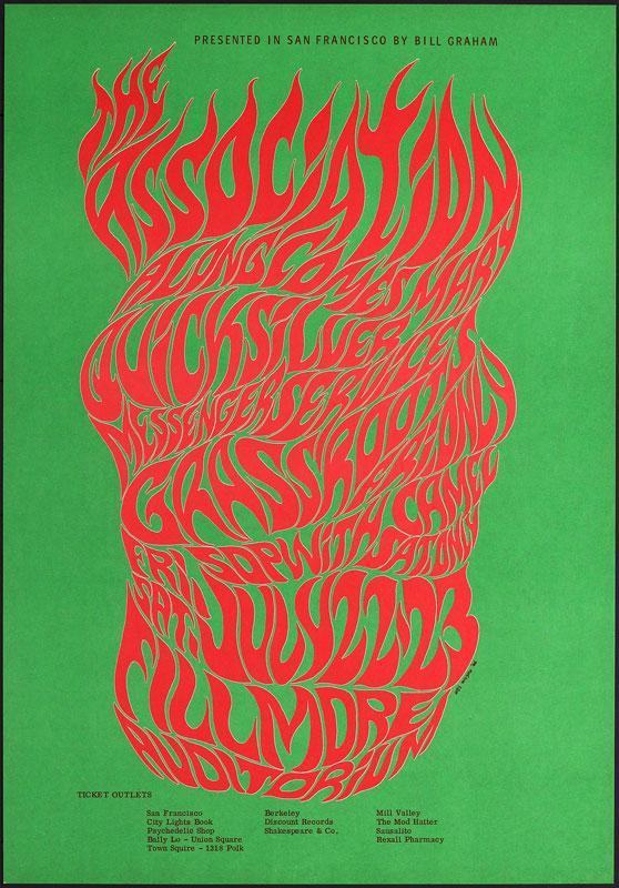 BG # 18-5 Association Fillmore Poster BG18