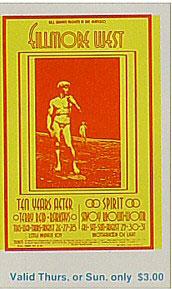 BG # 189 Ten Years After Fillmore Thursday - Sunday ticket BG189