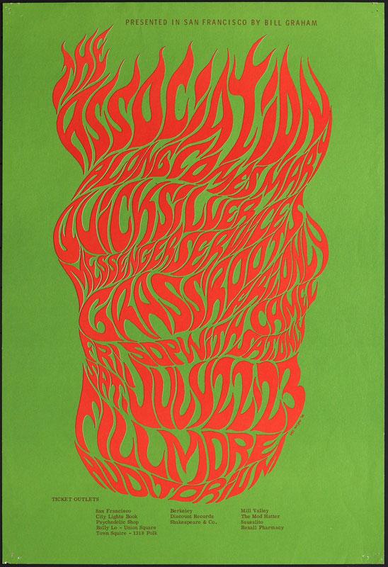 BG # 18-3 Association Fillmore Poster BG18