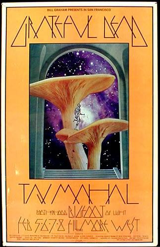 BG # 216-1 Grateful Dead Fillmore Poster BG216