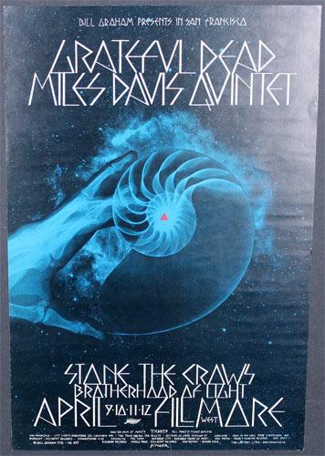 BG # 227-1 Grateful Dead Fillmore Poster BG227