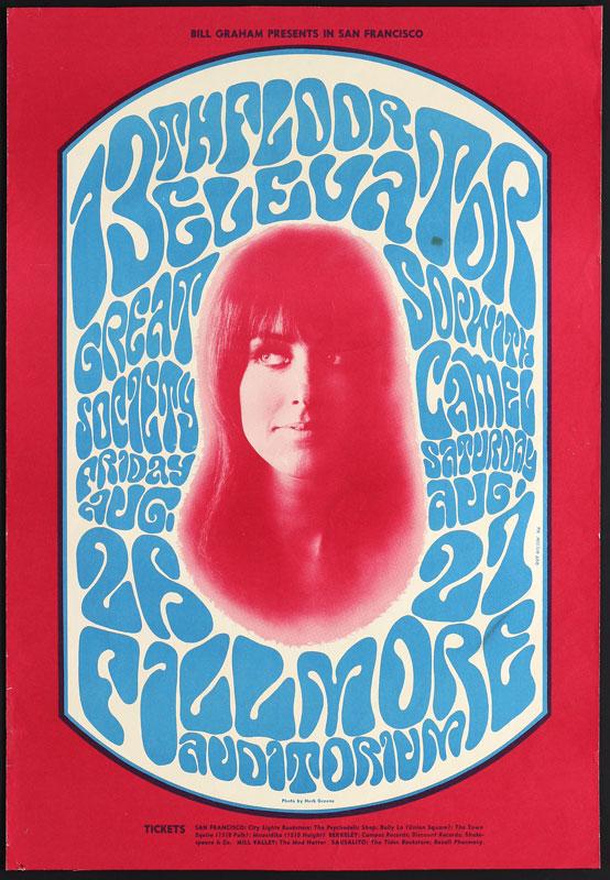BG # 25-1 13th Floor Elevator Fillmore Poster BG25