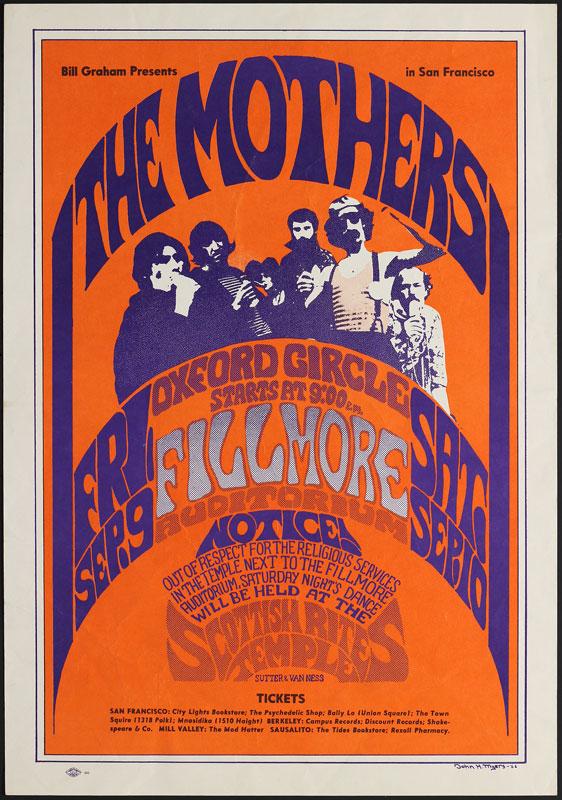 BG # 27-1 Mothers Fillmore Poster BG27