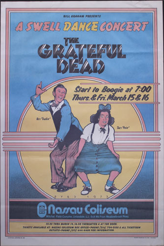 BG # 288-B Grateful Dead Fillmore Poster BG288
