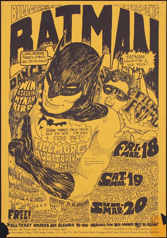 BG # 2-3 The Mystery Trend Fillmore Poster BG2