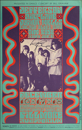 BG # 42-1 Jefferson Airplane Fillmore Poster BG42
