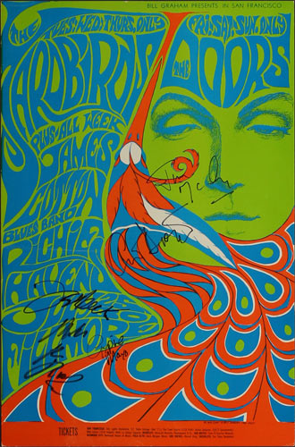 BG # 75-3 Yardbirds Fillmore Poster BG75