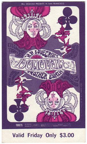 BG # 94 Donovan Fillmore Friday ticket BG94