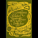 BG # 0-2 The Grass Roots Fillmore Poster BG0
