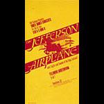 BG # 1 Jefferson Airplane Fillmore postcard - stamp back BG1