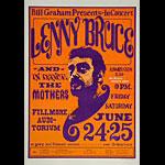 BG # 13-b Lenny Bruce Fillmore postcard BG13