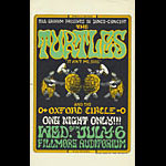 BG # 15-2 Turtles Fillmore Poster BG15
