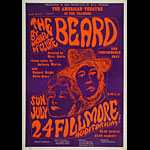 BG # 19-1 The Beard Fillmore Poster BG19