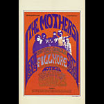 BG # 27 Mothers Fillmore postcard - stamp back BG27