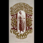 BG # 31-3 Butterfield Blues Band Fillmore Poster BG31