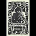 BG # 32-2 Grateful Dead Fillmore postcard - stamp back BG32