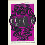 BG # 33 Yardbirds Fillmore postcard - stamp back BG33
