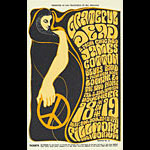 BG # 38 Grateful Dead Fillmore postcard - stamp back BG38
