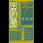 BG # 40-3 Love Fillmore Poster BG40