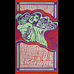 BG # 48-1 Jefferson Airplane Fillmore Poster BG48