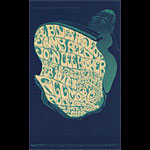 BG # 49 Blues Project Fillmore postcard BG49