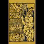 BG # 55-2 Chuck Berry Fillmore postcard BG55