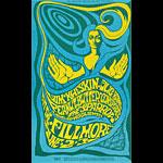 BG # 66 Jim Kweskin Jug Band Fillmore postcard BG66