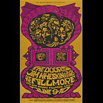 BG # 67 Doors Fillmore postcard - stamp back BG67