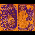 BG # 68/69 The Who Fillmore double postcard BG68/69