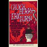 BG # 70-1 Chuck Berry Fillmore Poster BG70