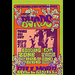 BG # 82 Byrds Fillmore postcard - stamp back BG82