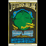 BG # 85 Jefferson Airplane Fillmore postcard - stamp back BG85