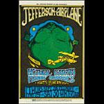 BG # 85 Jefferson Airplane Fillmore postcard - stamp back BG85