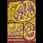 BG # 88 Jefferson Airplane Fillmore postcard - stamp back BG88