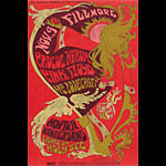 BG # 92 Procol Harum Fillmore postcard - stamp back BG92