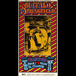 BG # 98 Buffalo Springfield Fillmore postcard BG98