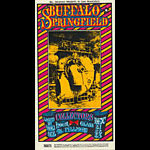 BG # 98 Buffalo Springfield Fillmore postcard - stamp back BG98
