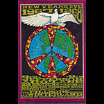 BG # 100-1 Jefferson Airplane Fillmore Poster BG100