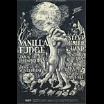 BG # 101 Vanilla Fudge Fillmore postcard - stamp back BG101