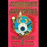 BG # 105-2 Jimi Hendrix Experience Fillmore Poster BG105