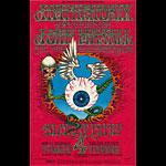 BG # 105 Jimi Hendrix Experience Fillmore postcard - stamp back BG105