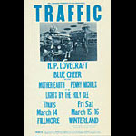 BG # 111-2 Traffic Fillmore Poster BG111